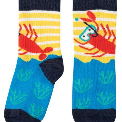 Frugi Socken Krabbe mit Taucherbrille