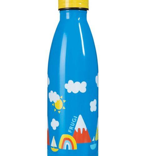 Trinkflasche Buddy Rainbow von Frugi aus Edelstahl