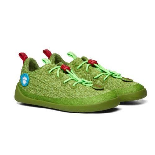 Affenzahn Kinder-Halbschuhe Drachen in grün - Bequem, praktisch, atmungsaktiv: AFZ-SKN-128-20083