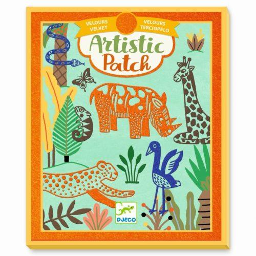 Djeco Artistic Patch Wild Animals