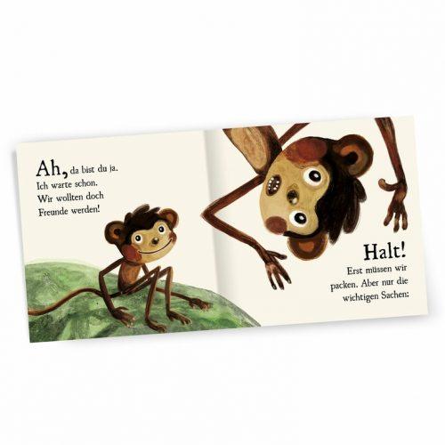 Für mich? Pappbilderbuch % für Kinder ab 2 Jahren von Affenzahn