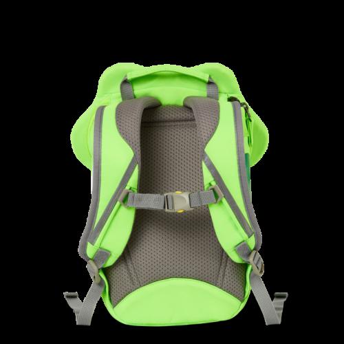 Affenzahn Kinderrucksack Frosch grün neon
