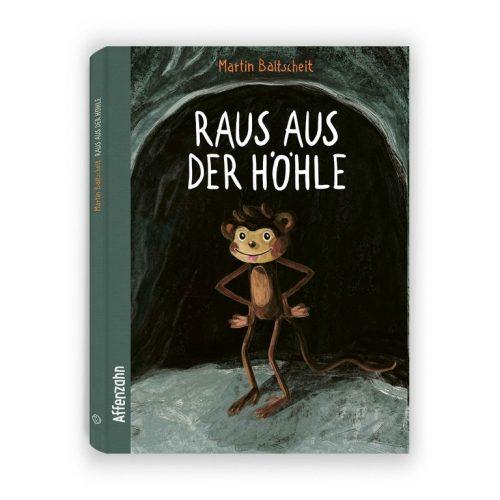 Raus aus der Höhle - Vorlese- und Bilderbuch ab 4 Jahren von Affenzahn