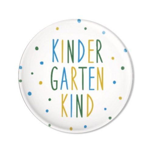 ava & yves Button Kindergartenkind, Konfetti blau