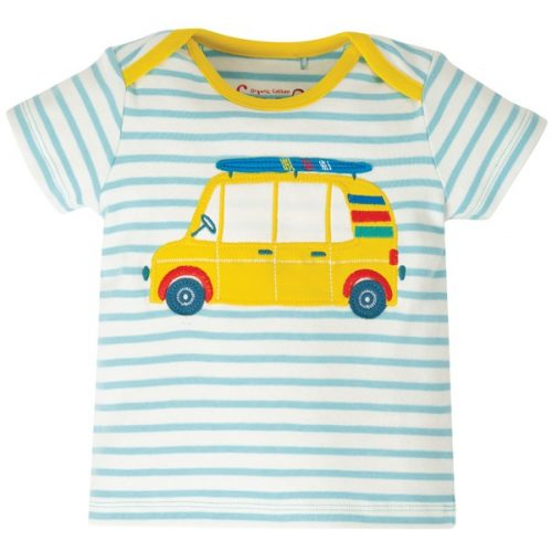 Frugi Kurzarm-Shirt Camper