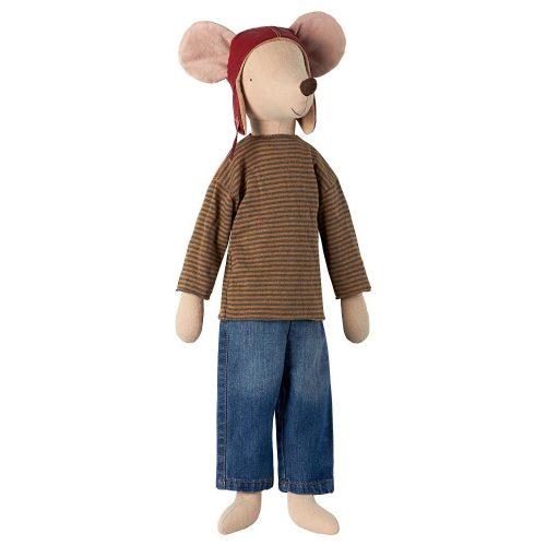 Maileg Mega Mouse: Rennfahrer-Maus - auch für große Kinder Racer Boy