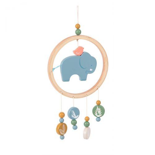 Traumfänger Mobile Elefant von Moulin Roty aus MDF hergestellt