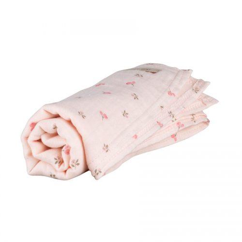 pure-pure by Bauer Mulltuch peach blush 100% Bio-Baumwolle GOTS