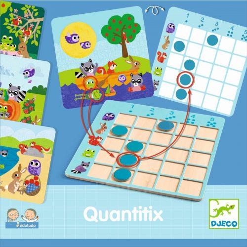 Djeco Eduludo Quantitix - Spielerisch zählen lernen ab 4 Jahre