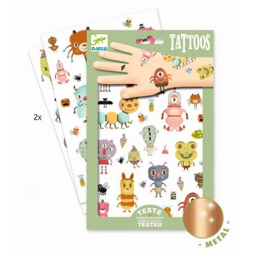 Djeco Tattoos Monster - ein Spass für kleine und größere Kinder