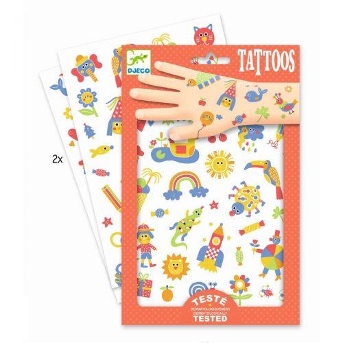 Djeco Tattoos So cute - ein Spass für kleine und größere Kinder