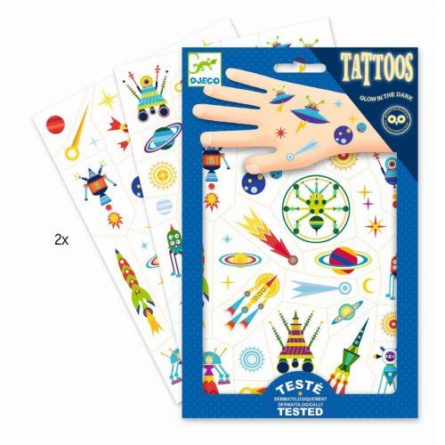 Djeco Tattoos Space - ein Spass für kleine und größere Kinder
