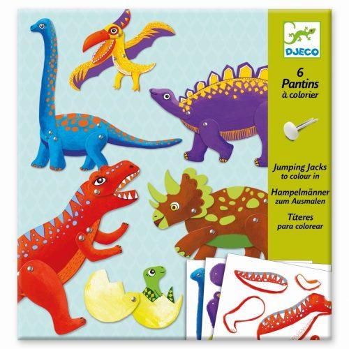 Djeco: Dinosaurier basteln ab 6 Jahre