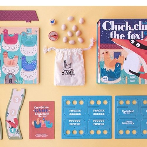 Londji Kooperationsspiel Cluck, cluck! The fox! ab 4 Jahre