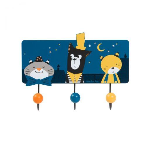Moulin Roty Garderobe Katzen - Ein Eyecatcher im Kinderzimmer