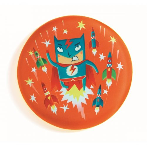 Djeco Frisbee-Scheibe Flying Hero
