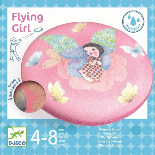 Djeco Frisbee-Scheibe Flying Girl