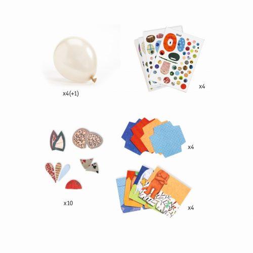 Djeco DIY Luftballons Tiere zum dekorieren