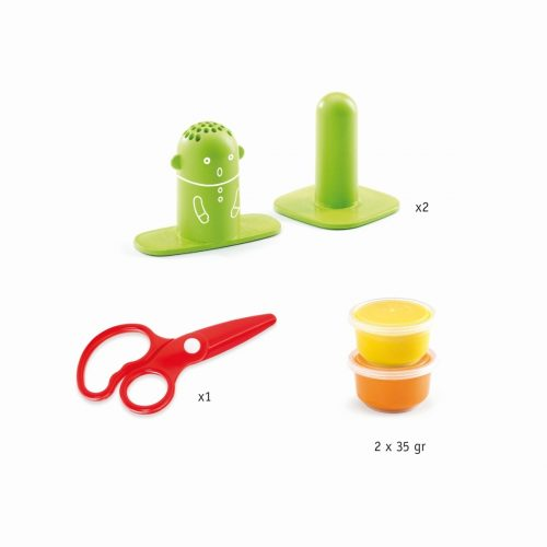 Djeco Knete: Frisuren schneiden für Kinder ab 3-6 Jahren
