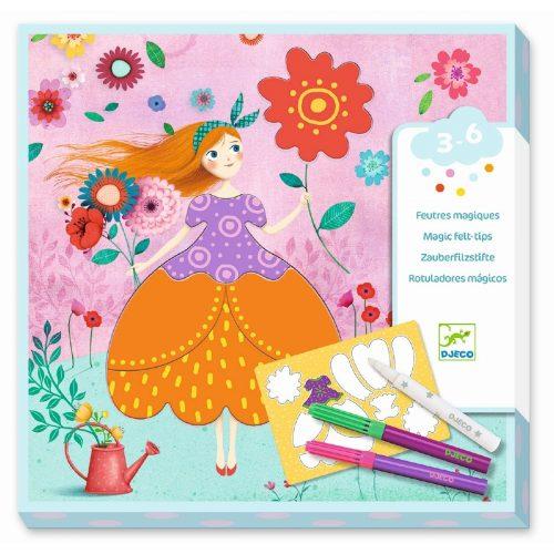 Djeco Malen: Maries hübsche Kleider