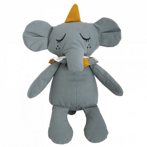 Kuscheltier Elefant in grau von Roommate H 40 cm