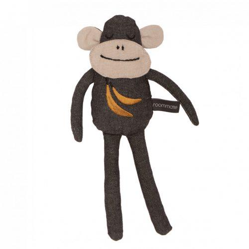 Kuscheltier Affe in dunkelgrau von Roommate H 30 cm