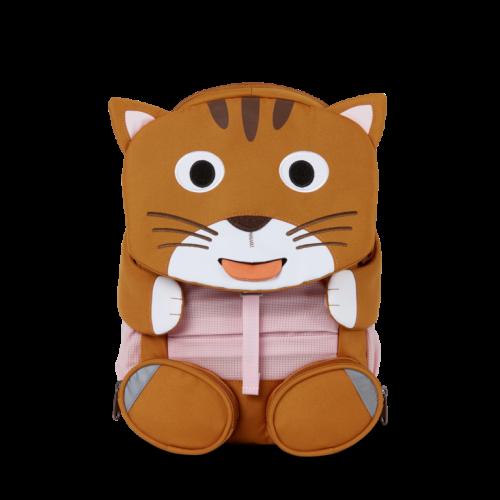 Affenzahn Kinderrucksack Katze gross in braun ab 3-5 Jahren