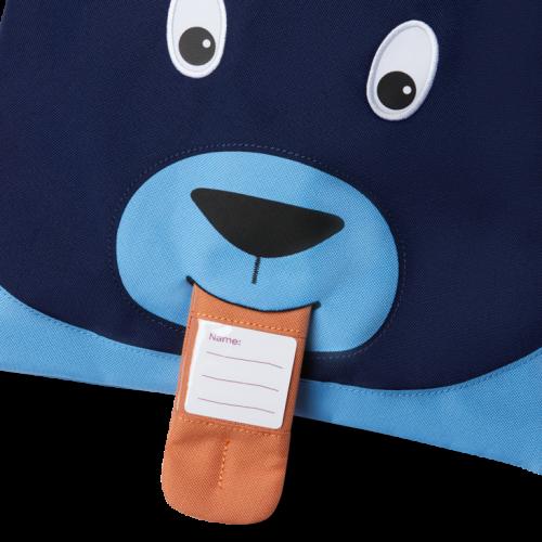 Affenzahn Rucksack-Turnbeutel Bär aus 50% receycelten PET-Flaschen