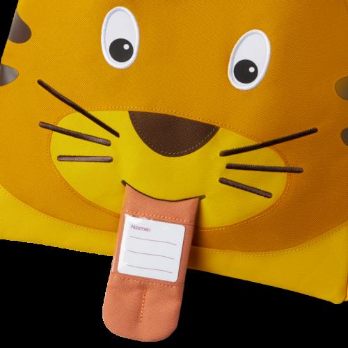 Affenzahn Rucksack-Turnbeutel Tiger aus 50% receycelten PET-Flaschen