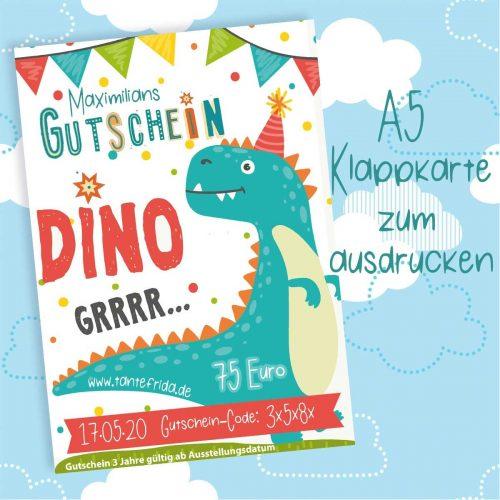 Gutschein Dino Grrrr...