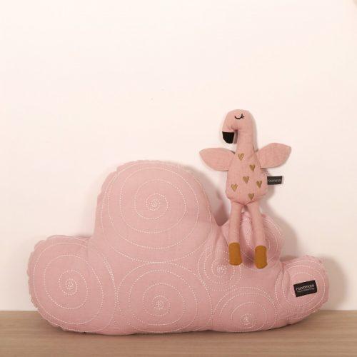 Kuscheltier Flamingo in rosa von Roommate H 30 cm