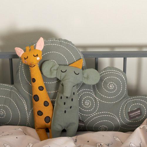 Kuscheltier Giraffe in ocker von Roommate H 30 cm Elefant