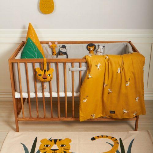 Baby Bettwäsche Tiger von Roommate