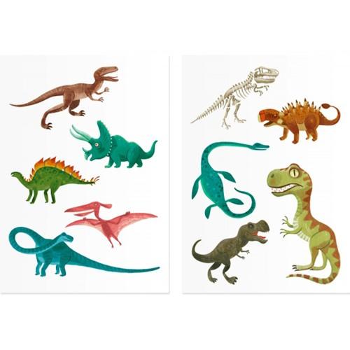 Londji Tattoos Dinosaurier ab 3 bis 103 Jahre, dermatologisch getestet