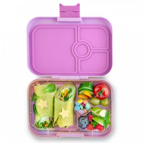 Yumbox Panino Bento Lunchbox Lila Purple 4 Fächer