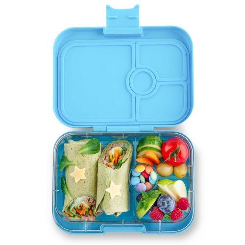 Yumbox Panino Bento Lunchbox Nevis Blue 4 Fächer