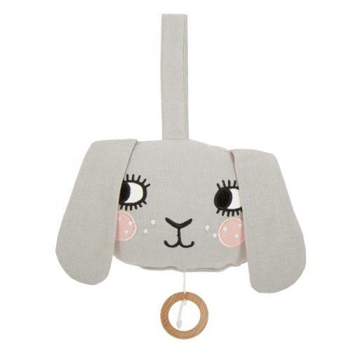 Roommate Spieluhr Hase - schönes Geschenk zur Geburt