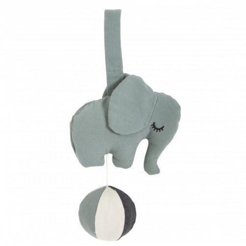 Roommate Spieluhr Elefant blaugrau