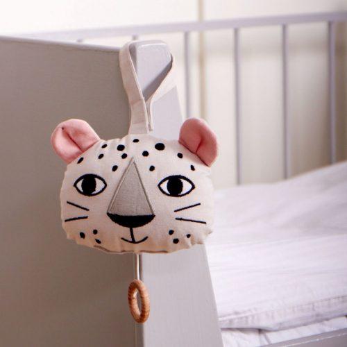 Roommate Spieluhr Leopard - schönes Geschenk zur Geburt