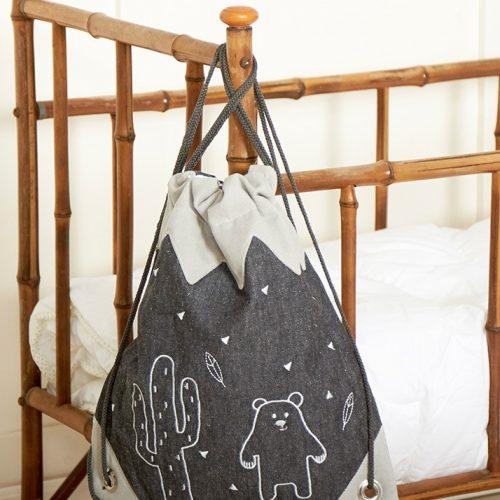 Roommate Rucksack-Turnbeutel Mountain - perfekt für Kita und Schule