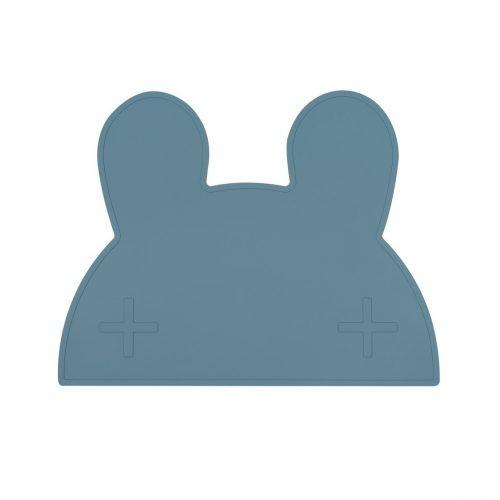 Platzset Hase in blau aus Silikon von We Might Be Tiny