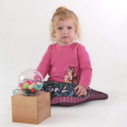 Enfant Terrible Wenderock Blumen-Geometriedruck in tanne-soft-pink