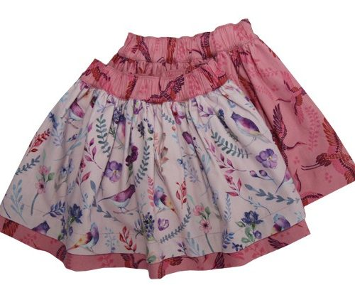 Enfant Terrible Wenderock Blumen-Kraniche in hellrosé-soft-pink