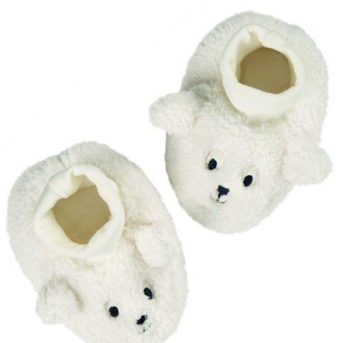 Frugi Babyschuhe Schaf