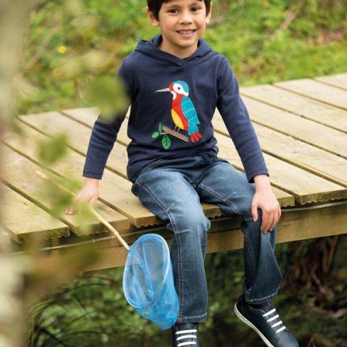 Frugi Cody Jeans Denim aus Bio-Baumwolle - perfekt für jedes Abenteuer
