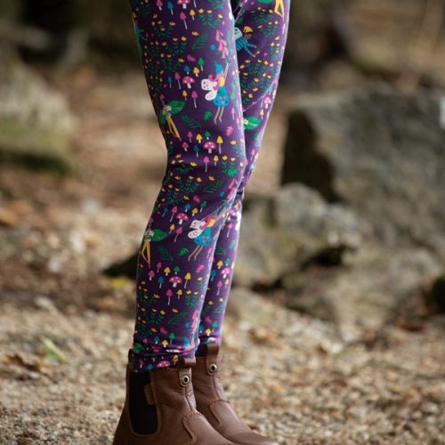 Frugi Libby Leggings Fairy Friends aus Biobaumwolle + Elasthan