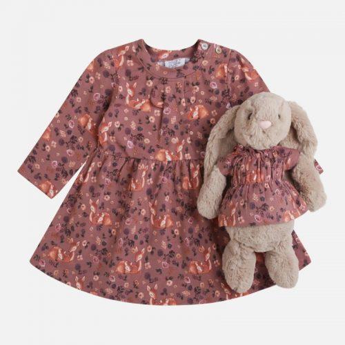 Kleid Kiki in braun GOTS von Hust & Claire