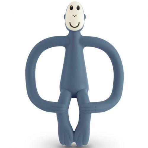Matchstick Monkey in Air Force Blue Greifling/Beißring/Zahnungshilfe