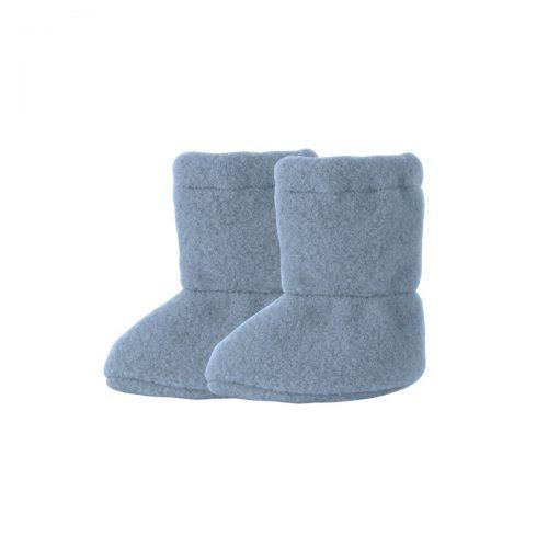 Schurwolle Baby-Stiefel in blau von pure-pure by Bauer