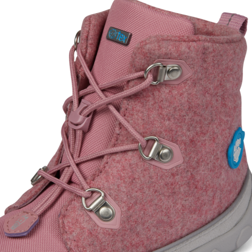 Affenzahn Kinder-Winterstiefel Einhorn in pink
